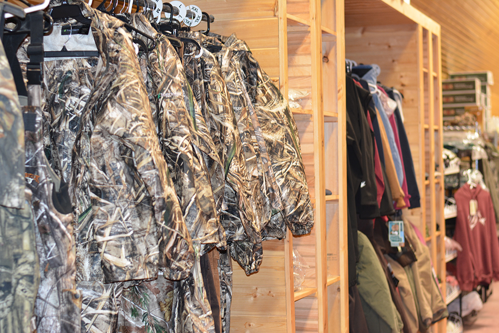 Middle Mountain Sporting Goods offers hunting apparel in Randolph County, WV