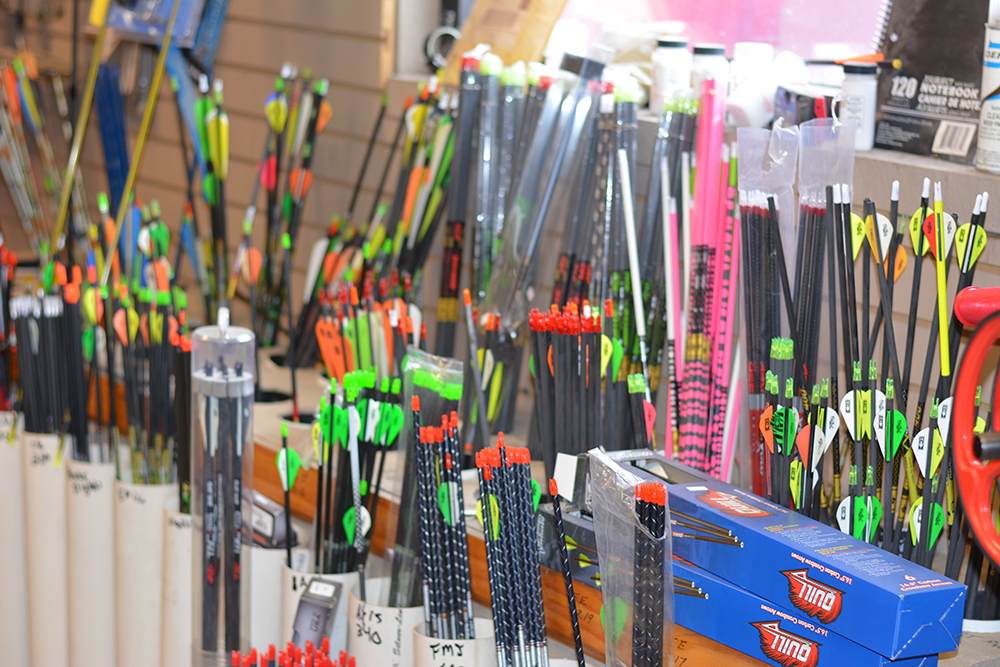 Targets, arrows & crossbow bolts at Middle Mountain Sporting Goods in Elkins, WV