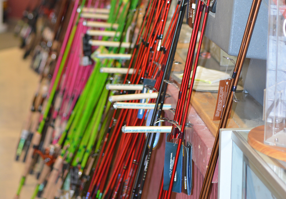 Middle Mountain Sporting Goods offers fishing rods & accessories in Elkins, WV